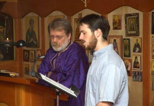 Holy Saturday and Baptism of Silouan Story